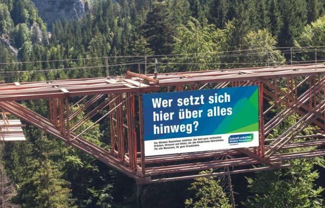 Imagekampagne des Bündner Baumeisterverbands.