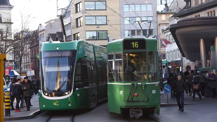 Jahrelanges Auf und Ab: Die Basler Verkehrs-Betriebe. (Archivbild)