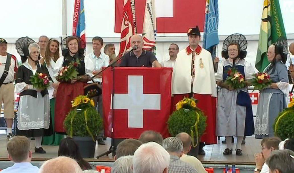 Rede-Marathon von Bundespräsident Ueli Maurer