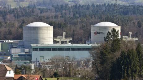 Das AKW Beznau I und II mit den beiden Reaktorblöcken (Archivbild)