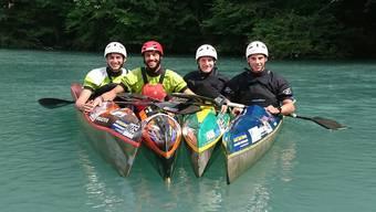 Leano Meier, Nico Meier, Basil Jenni und Robin Häfeli vertreten die Solothurner Fraktion an der Junioren-U23-EM.