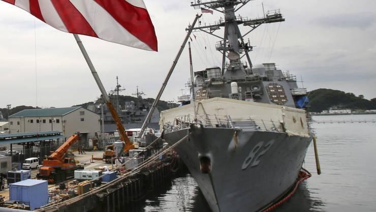 """Ab ins Südchinesische Meer: US-Zerstörer """"USS Lassen"""" liegt vor Tokio vor Anker. (Archiv)"""