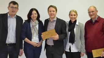 Sie kämpfen für das Dahlihaus (von links): Vereinspräsident Beat Peterhans mit den Vorstandsmitgliedern Ruth Kälin, Kurt Schneider, Brigitte Schnyder und Heinz Fischer. IHK