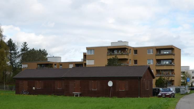 Das Asylzentrum befindet sich inmitten des Wohngebiets.