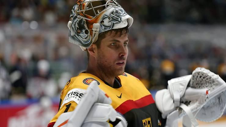 Deutschlands Hoffnungsträger Thomas Greiss, formstarker Goalie der New York Islanders