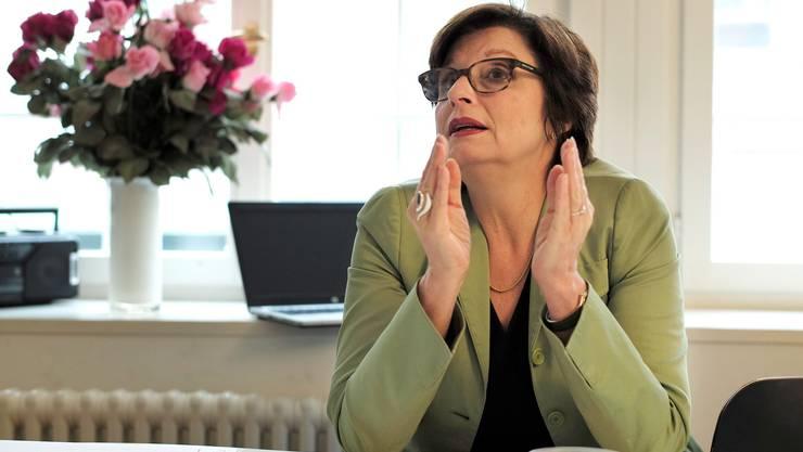 Anita Fetz ist nicht begeistert von der Fusions-Initiative.