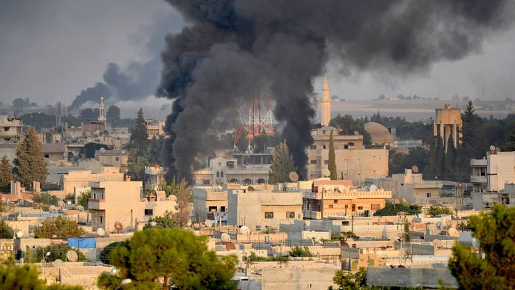 Die Türkei hat ihre «Operation Friedensquelle» gestern gestartet: Mit einem Angriff auf die syrische Stadt Ras al-Ain.