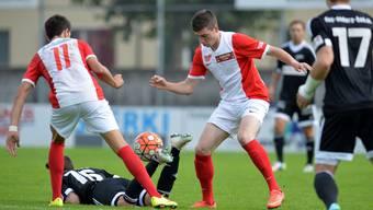 Der FC Solothurn ist in der Tabelle im oberen Mittelfeld platziert und hat somit weder mit dem Auf- noch mit dem Abstieg etwas zu tun. (Archiv)