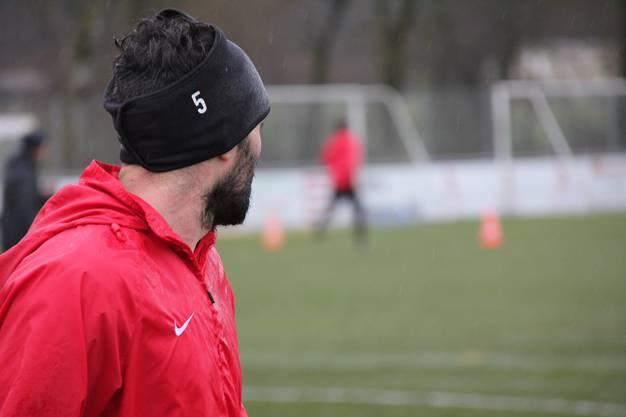 Luca Radice während des FCA-Trainings vom Mittwochmorgen