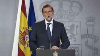 Spaniens Ministerpräsident Mariano Rajoy.