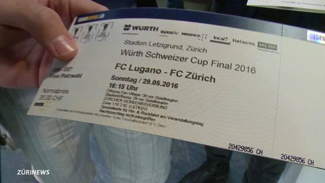 Grossandrang für Cupfinal-Tickets