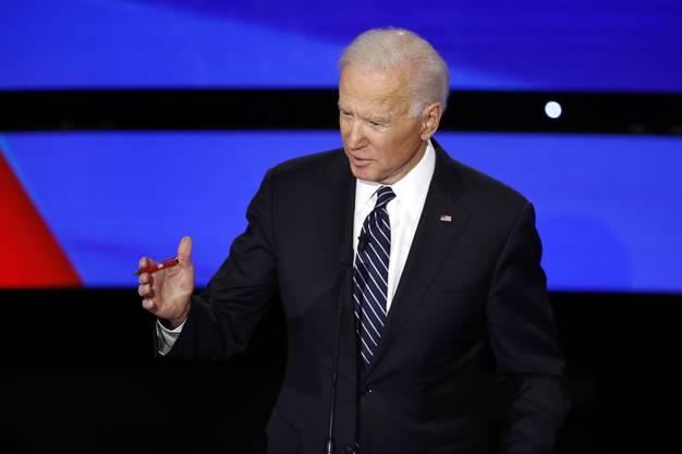 Joe Biden warf Trump vor, über die Gründe für die Tötung von Soleimani gelogen zu haben.