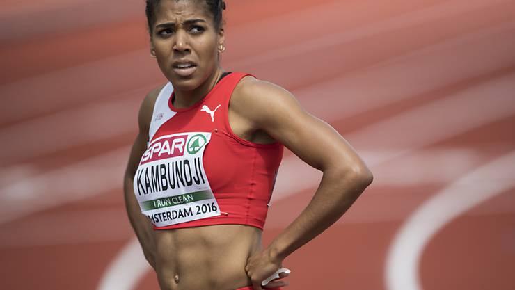 Ratlos nach dem Verpassen des Finals: Mujinga Kambundji