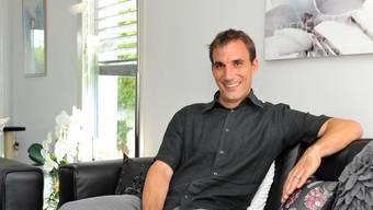 Marco Crivelli bei sich zu Hause.
