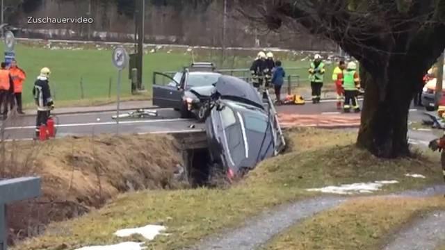 Schwerer Unfall in Riedenbach