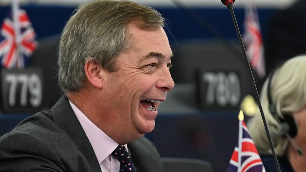 Brexit-Vorkämpfer Nigel Farage verabschiedet sich aus dem «Gefängnis EU»