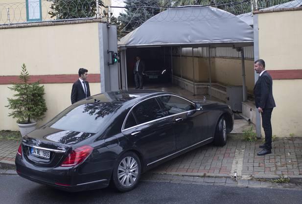 Die Aufnahmen sollen belegen, dass Regime-Kritiker Khashoggi im saudischen Konsulat ermordet wurde.