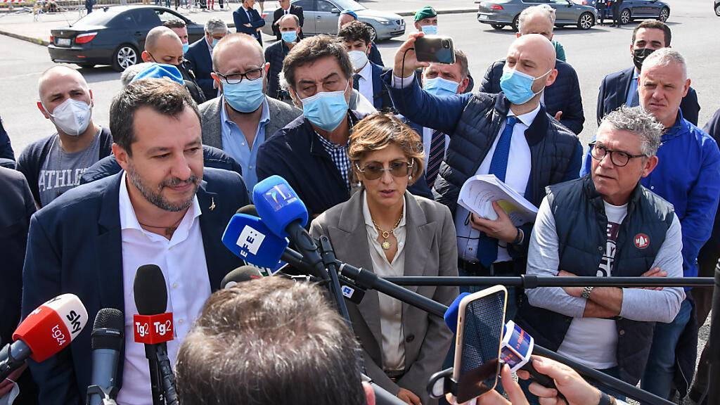 Italien: Prominente Zeugen in «Open-Arms»-Prozess zugelassen