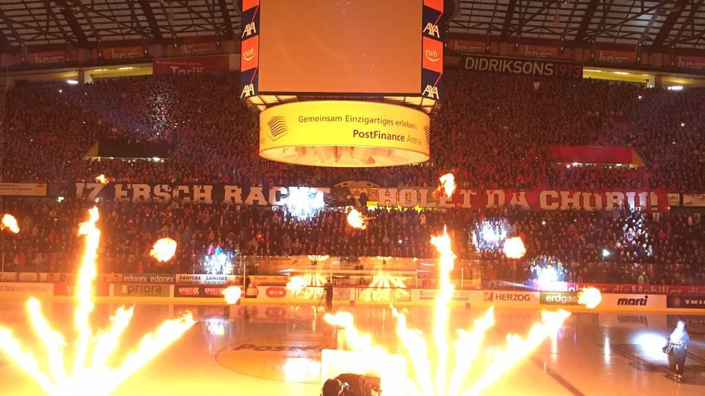 Eishockey live: SCB - EVZ 6:1*