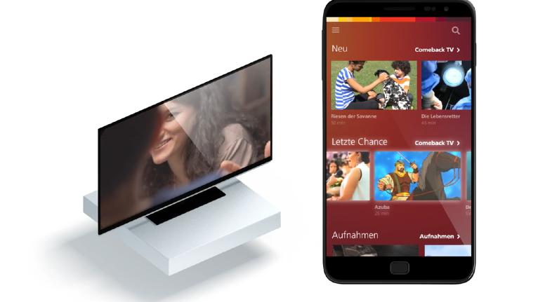 Vernetzt: Sunrise Smart TV mit 7 Tagen Replay