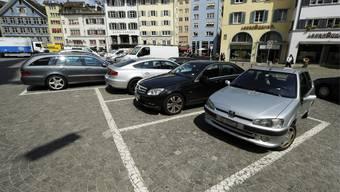 Die Zahl der Parkplätze in der Zürcher Innenstadt sind im 2016, im Vergleich zum Vorjahr, um 89 zurückgegangen. (Symbolbild)