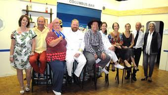Die Theatergruppe Stüsslingen steht mit ihrem Stück «Uf Bali und zrugg» sechs Mal auf der Bühne.