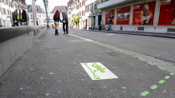 Die Webergasse gehört zum offiziellen Strich der Stadt Basel.