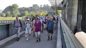 Fünfzehnte Etappe: Von Klingnau um den Stausee