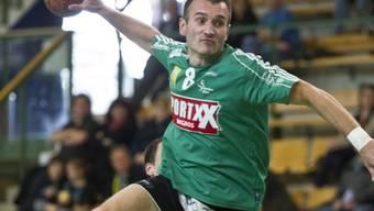 Boma Franic steuerte sieben Treffer zum Thuner Sieg bei.