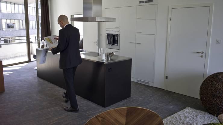 Ein Mix von Wohnungen mit zwei und vier Zimmern macht viele Mieter glücklicher als Drei-Zimmer-Wohnungen.
