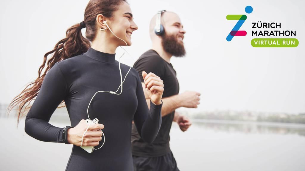 Gewinne Tickets für den ersten virtuellen Zürich Marathon