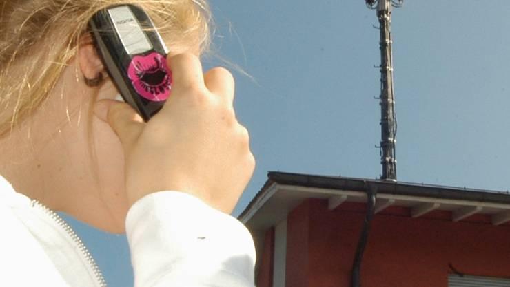 Symbolbild: Zwist um die Mobilfunkantenne in Widen.WAS/Archiv AZ