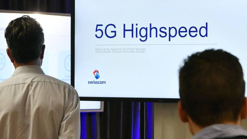 Swisscom zeigt erstmals 5G-Handyprototyp