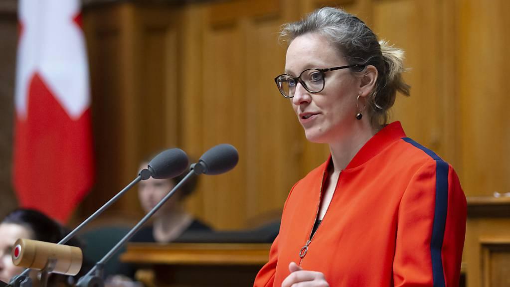 Die Berner Nationalrätin Aline Trede wird neue Fraktionschefin der Grünen. (Archivbild)