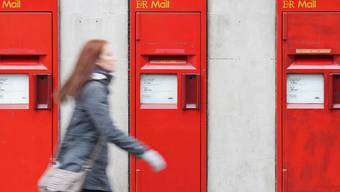 Briefkästen der britischen Royal Mail in London