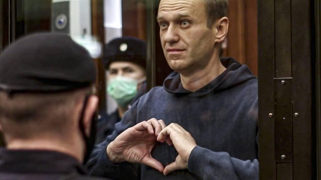 Russland beklagt «Hysterie» um Nawalny - Neue Sanktionen drohen