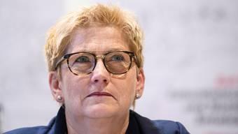Beatrice Simon will Berner Regierungsrätin bleiben.