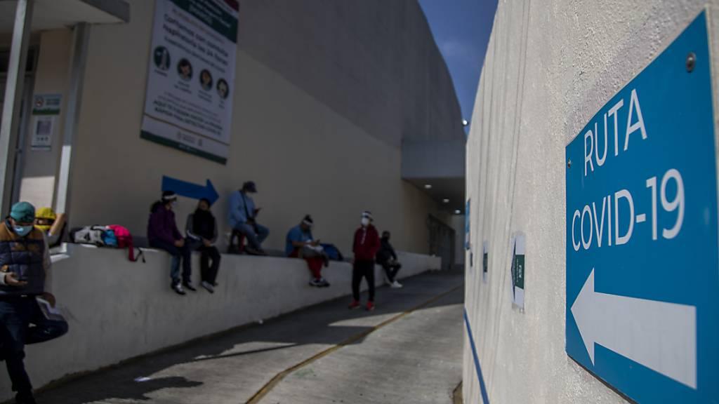 Höchststand für einen Tag: 1803 neue Corona-Tote in Mexiko