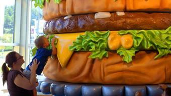 Big Mac im Big-Mac-Museum-Restaurant in Pennsylvania – vielleicht bald wirklich nur noch Museumsware. Imago