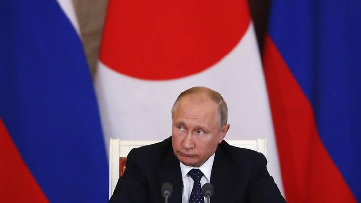 Grossbritannien macht die Regierung von Russlands Präsident Wladimir Putin für Cyber-Attacken auf westliche Staaten verantwortlich. (Archivbild)