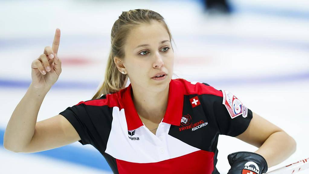 Skip Elena Stern macht mit ihrem Team auf dem höchsten Niveau auf sich aufmerksam.