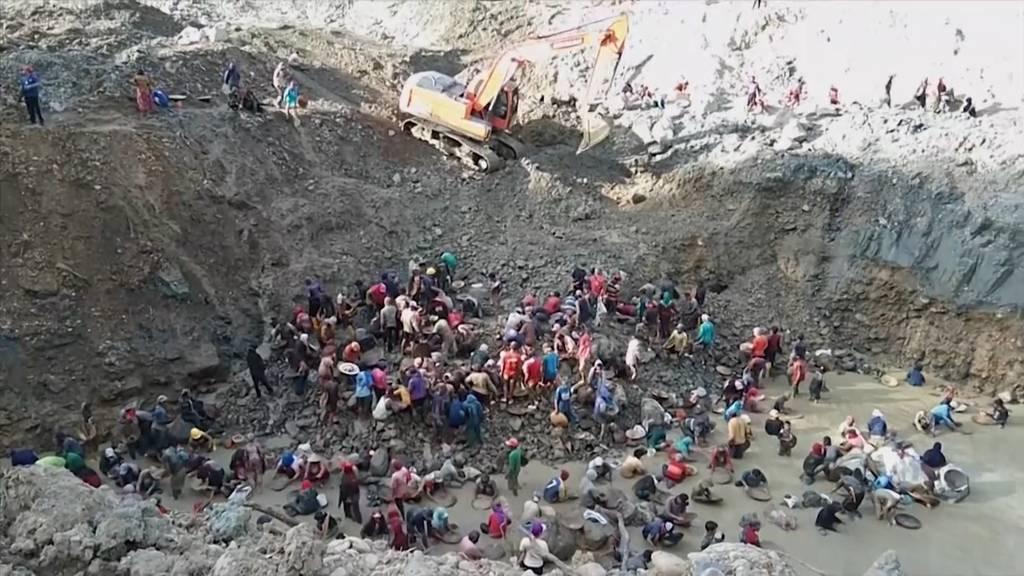 Indonesien: Drei Tote und mehrere Vermisste bei Erdrutsch in illegaler Goldmine