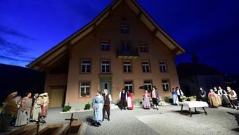 Das 2015 von den Gäuer Spielleuten aufgeführte Freilichttheater «Adam Zeltner - ein Leben zwischen Mühlen» erreichte eine Zuschauerauslastung von 91 Prozent.