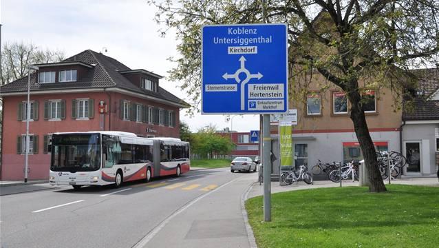 In Obersiggenthal gehen die Meinungen über die Verkehrssituation auseinander. az archiv