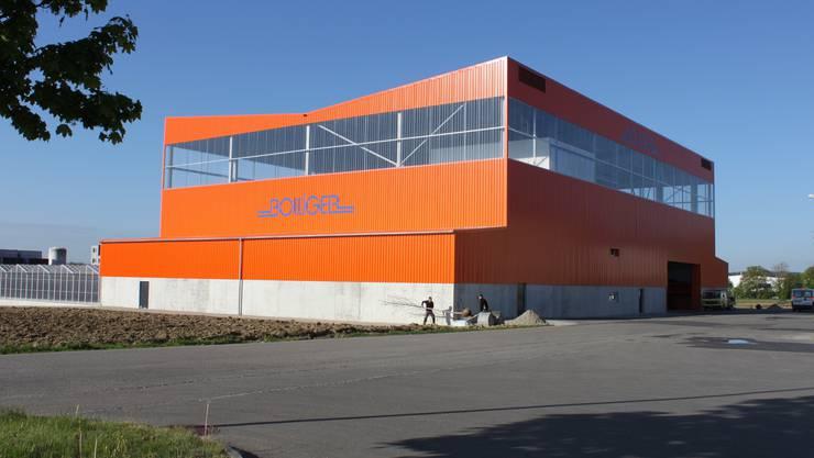 Das neue Betriebsgebäude
