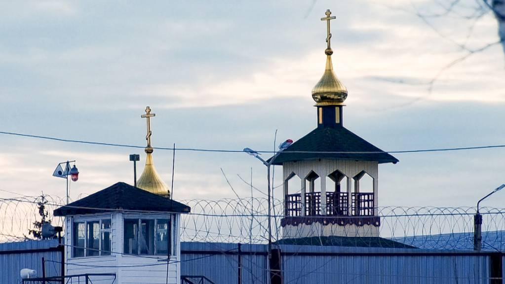 Die Gefangenenkolonie IK-2, die sich unter den russischen Strafvollzugsanstalten durch ein besonders strenges Regime auszeichnet, liegt 85 Kilometer östlich von Moskau.Kremlkritiker Nawalny war in dieses Straflager gebracht worden. Foto: Kirill Zarubin/AP/dpa Foto: Kirill Zarubin/AP/dpa