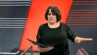Zur Premiere erwartete die Slam-Poetin Patti Basler eine veritable Strafaufgabe.