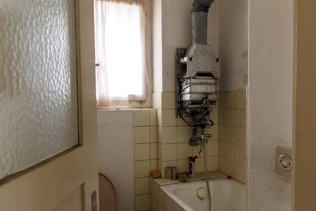 Blick ins Badezimmer