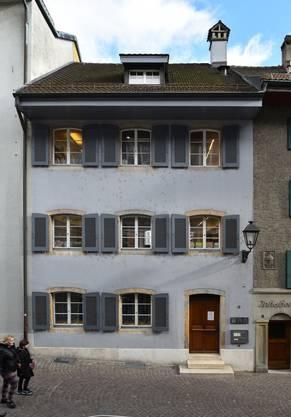 Das Jugendbibliothek-Haus in der Zielempgasse 8.