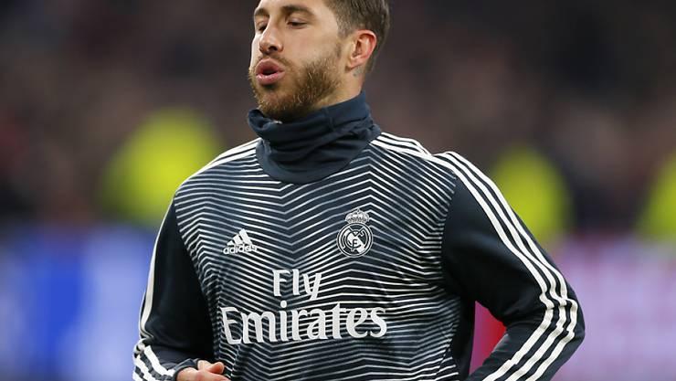 Sergio Ramos - das ging in die Hose